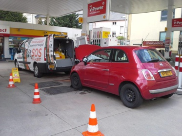 SOS Fuel Assist intervient sur place en cas d'erreur de carburant